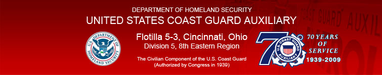 U.S. Coast Guard Auxiliary Flotilla 05-03 - 8th Eastern District
